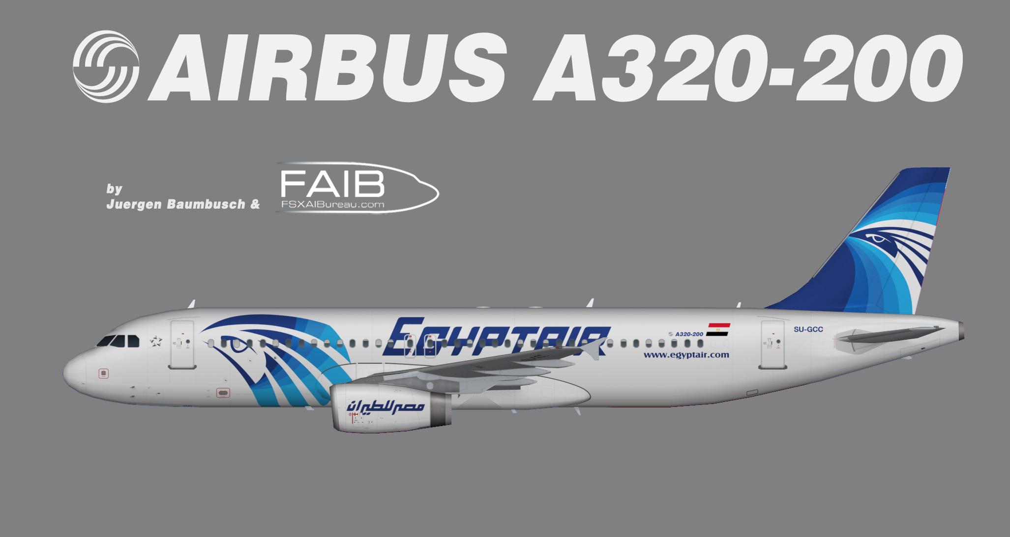 Egyptair Airbus A320 200 Juergen S Paint Hangar