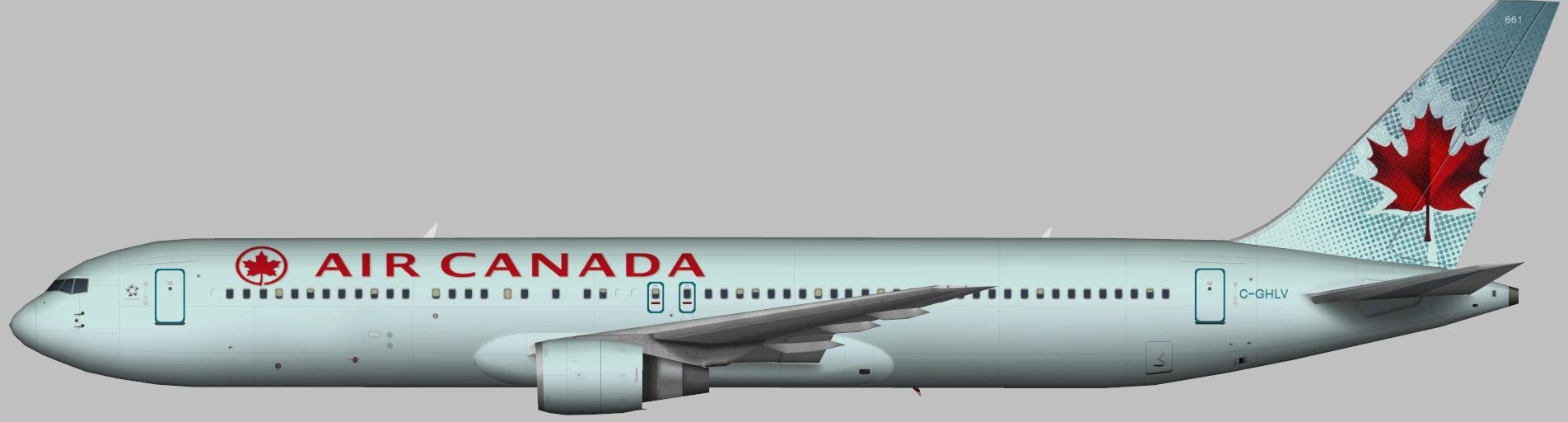Air Canada Boeing 767-300 – Garry Lewis – Juergen's paint ...