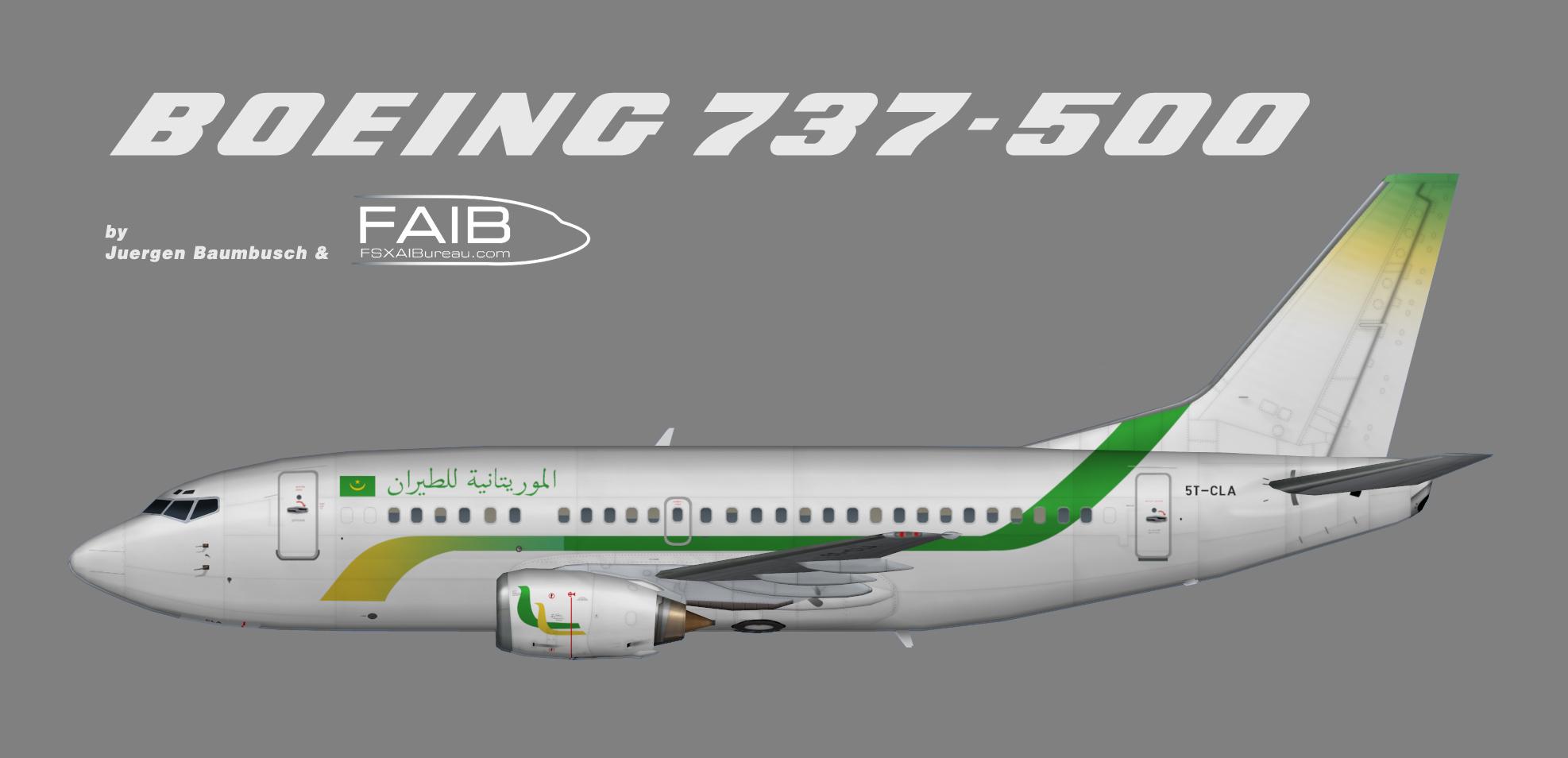 Mauritania Airlines Boeing 737-500