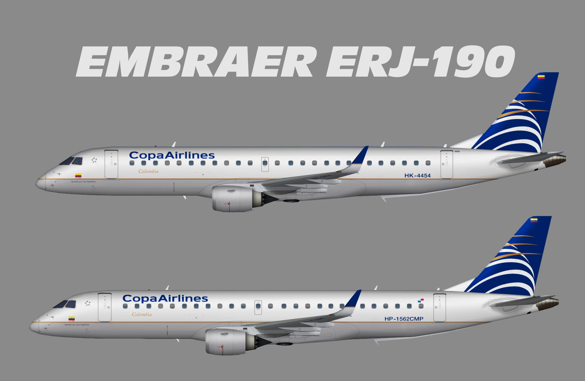 Copa Airlines Colombia ERJ-190