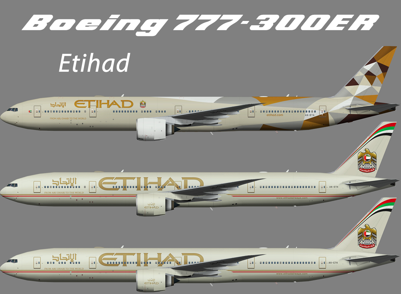 Etihad Boeing 777-300ER – Nils