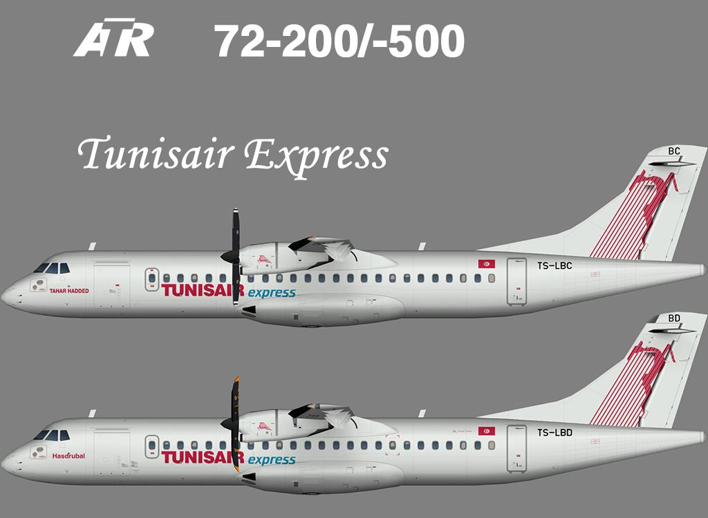 Tunisair Express ATR 72 – Nils