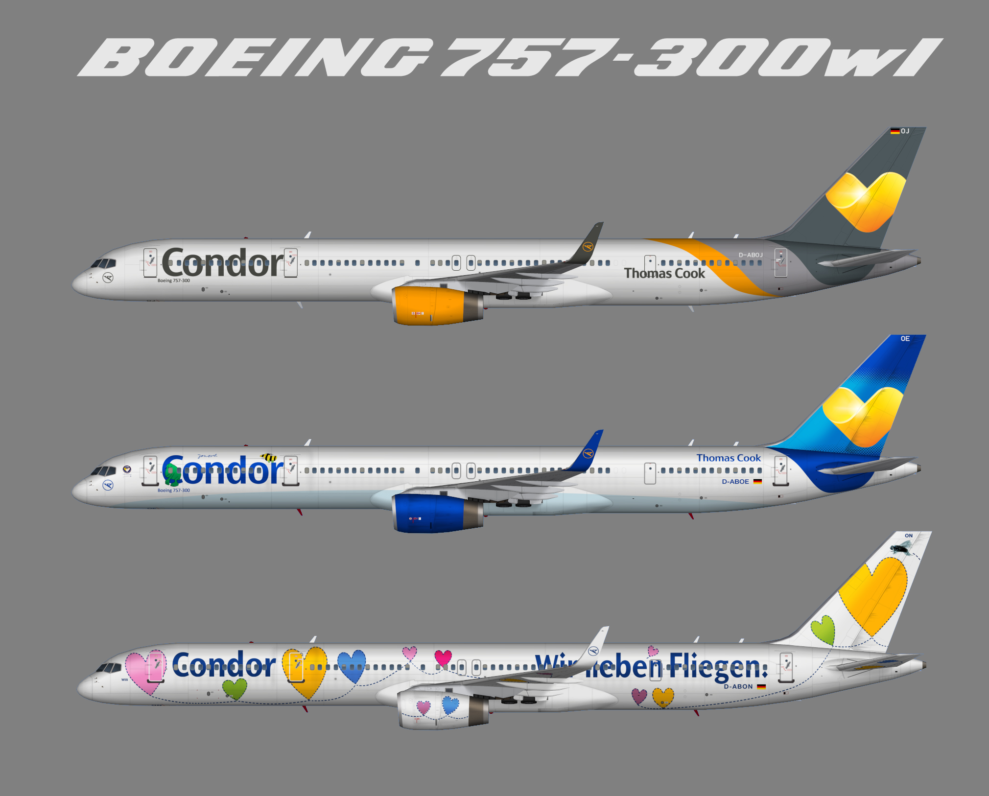 Fs2004 qualitywings 757