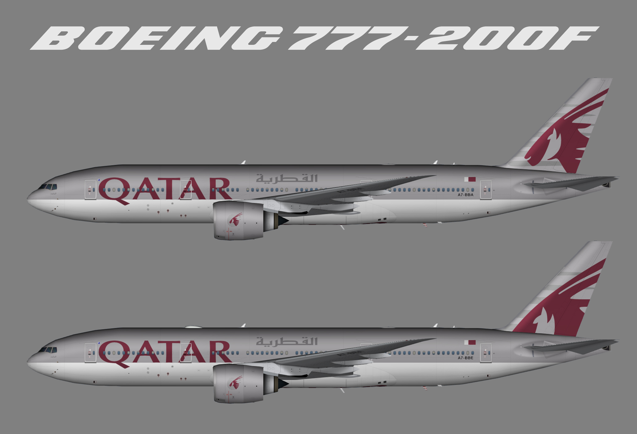 Qatar Airways Boeing 777-200LR