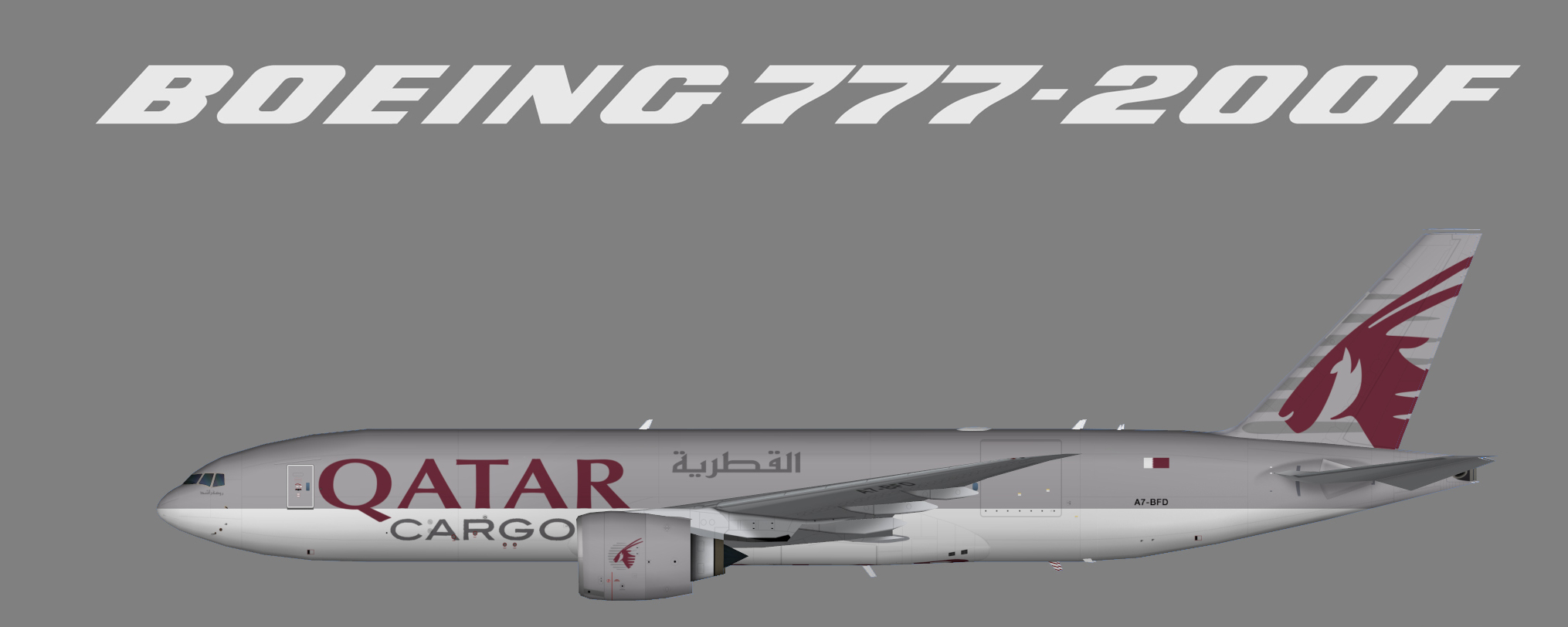 Qatar Airways Cargo Boeing 777F