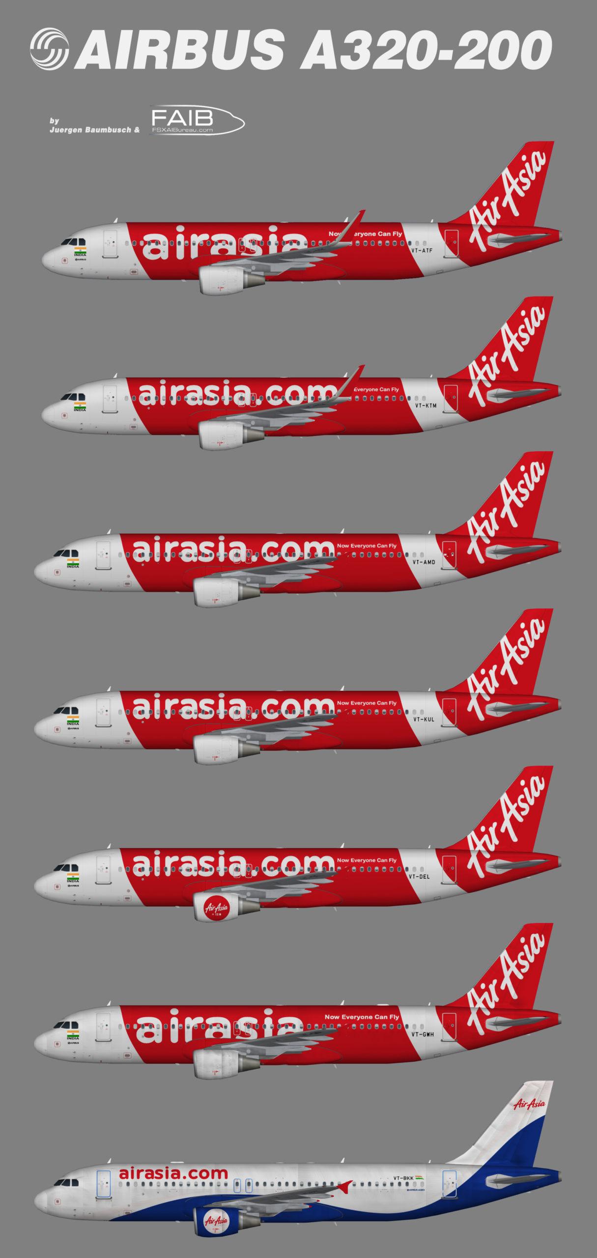 AirAsia India Airbus A320-200