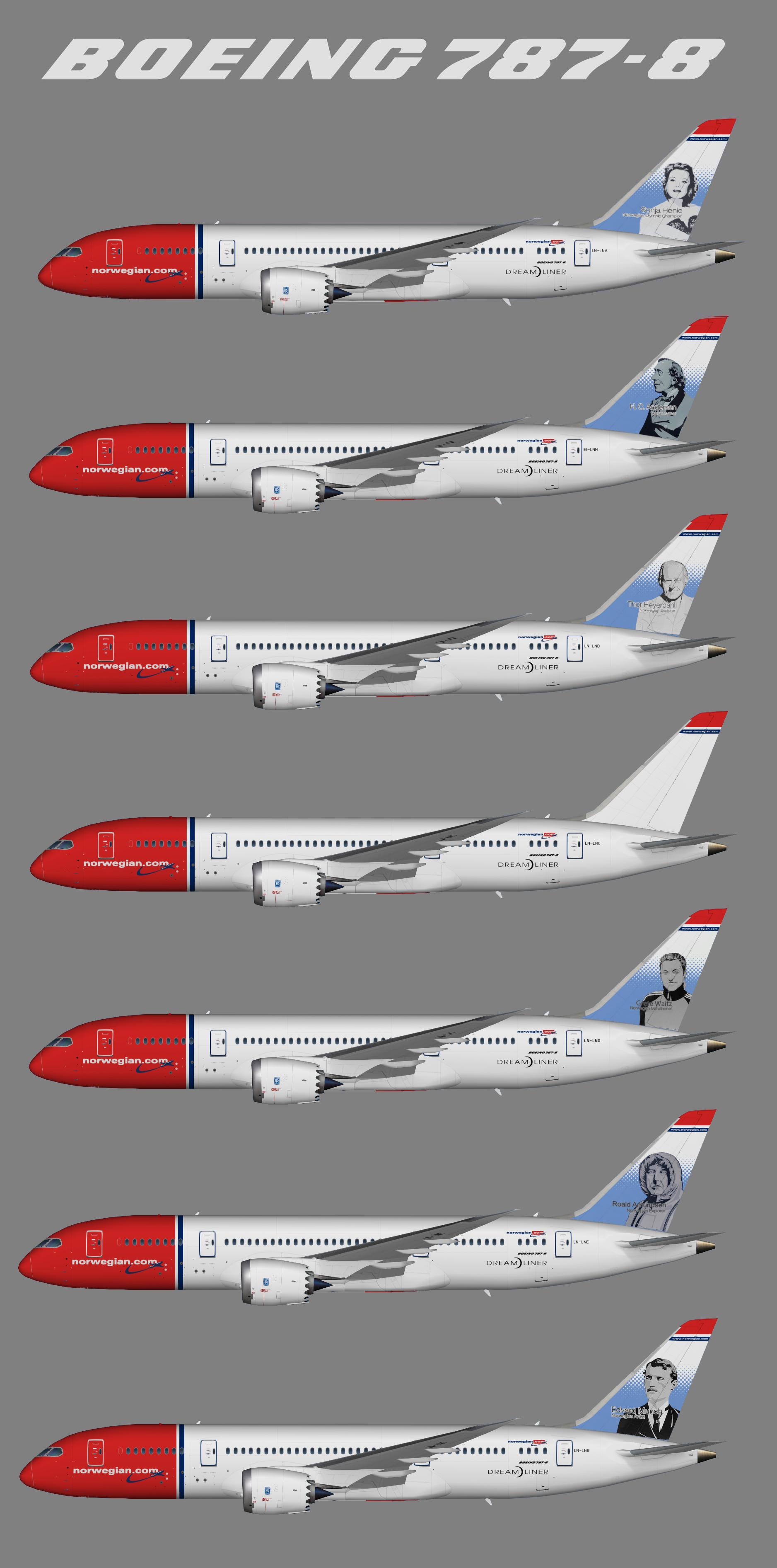 Norwegian Longhaul Boeing 787-8