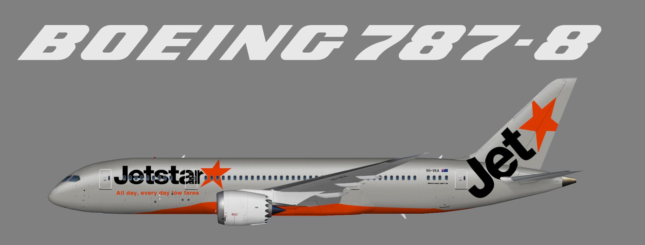 Jetstar Australia Boeing 787-8