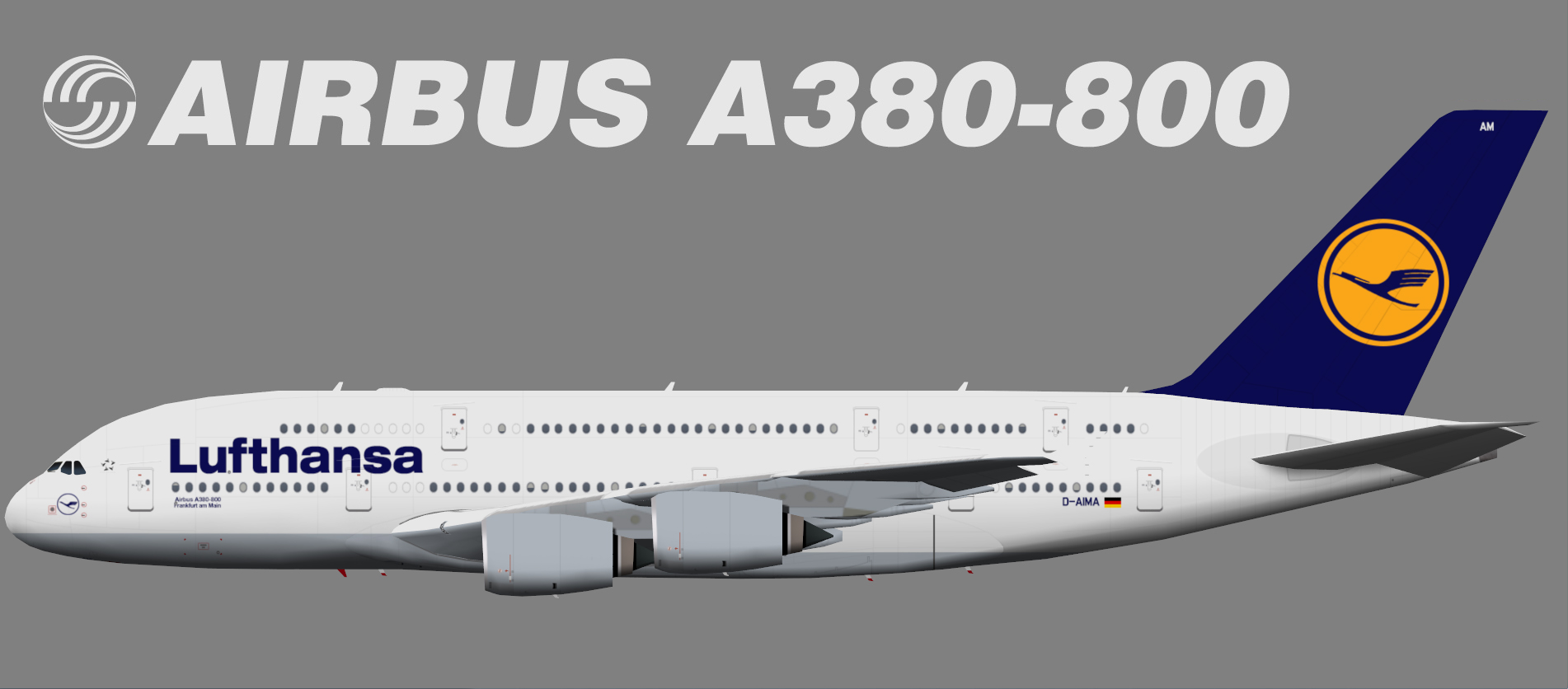 lufthansa airbus a380 800 juergen 39 s paint hangar. Black Bedroom Furniture Sets. Home Design Ideas