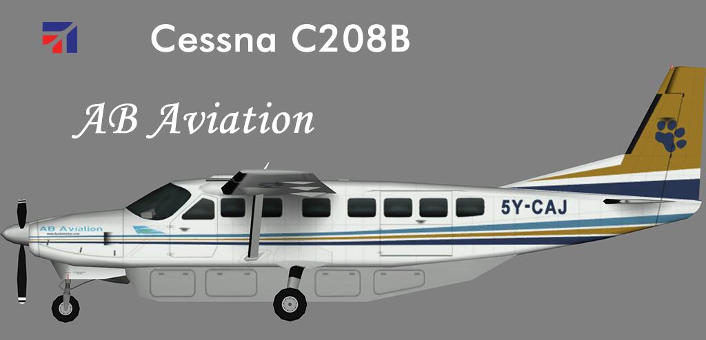 Ab Aviation Cessna C208b Nils Juergen S Paint Hangar