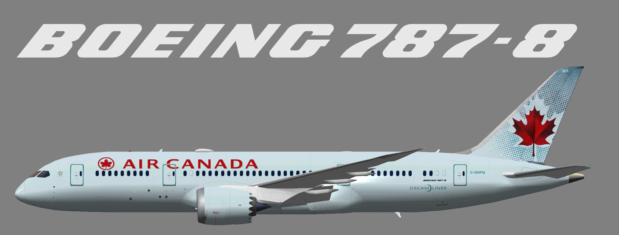 Air Canada Boeing 787-8 – Garry