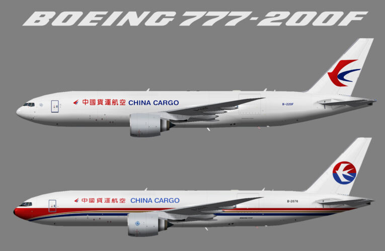 TFS China Cargo Airlines Boeing 777-200F