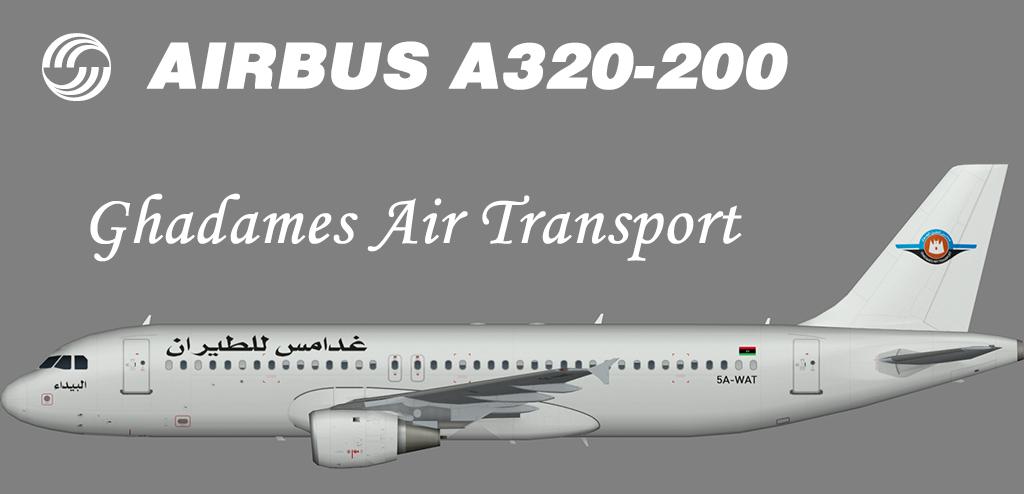 Ghadames Air Transport Airbus A320-200 – Nils