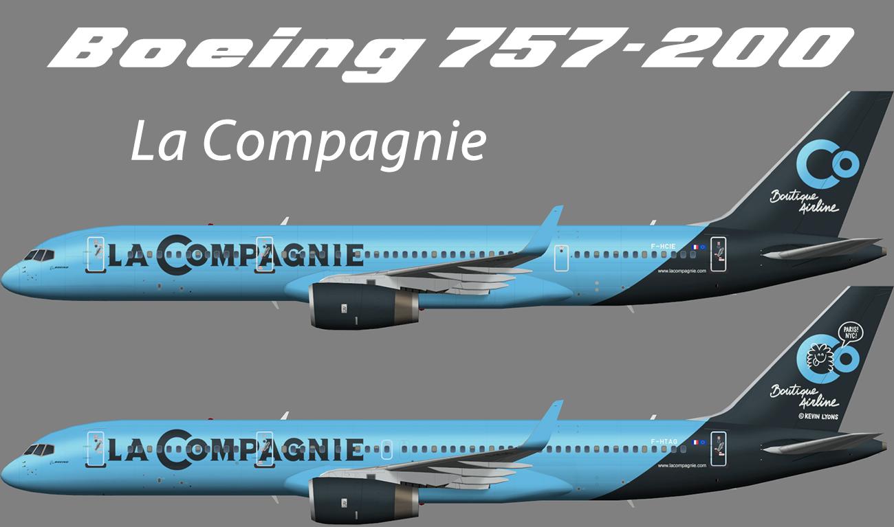 La Compagnie Boeing 757-200W – Nils