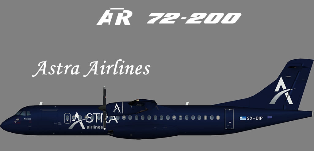 Astra Airlines ATR 72 – Nils