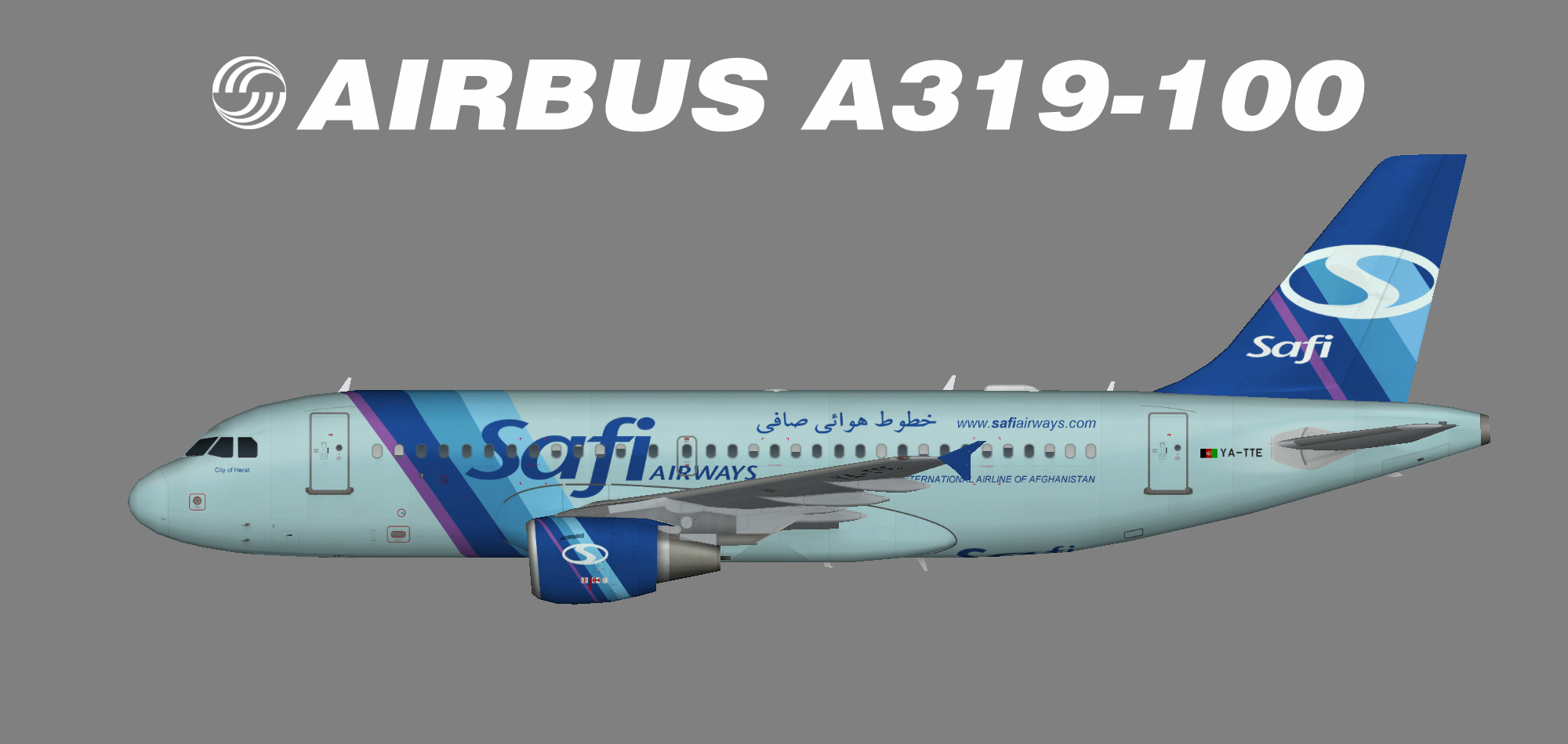 Safi Airways A319