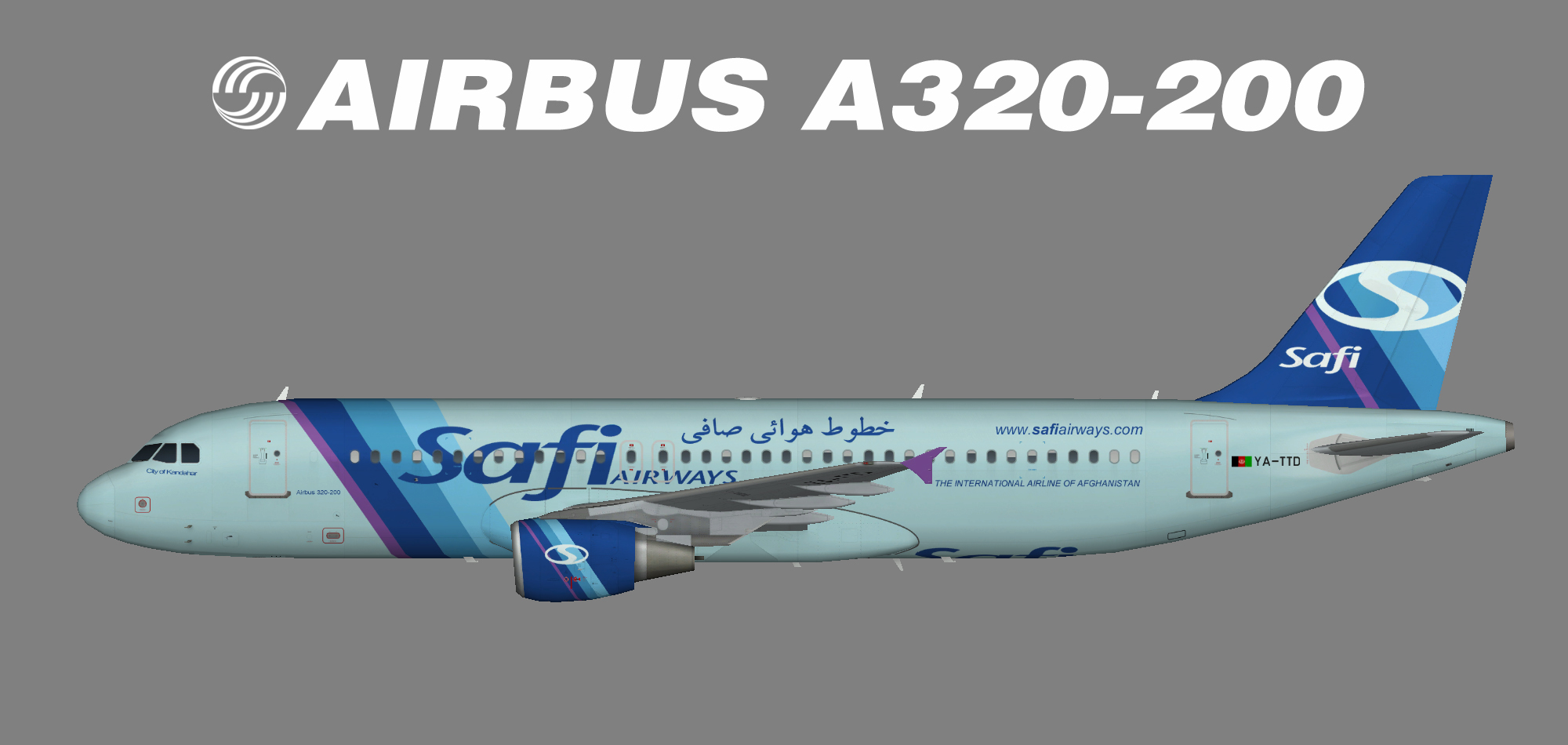 Safi Airways A320