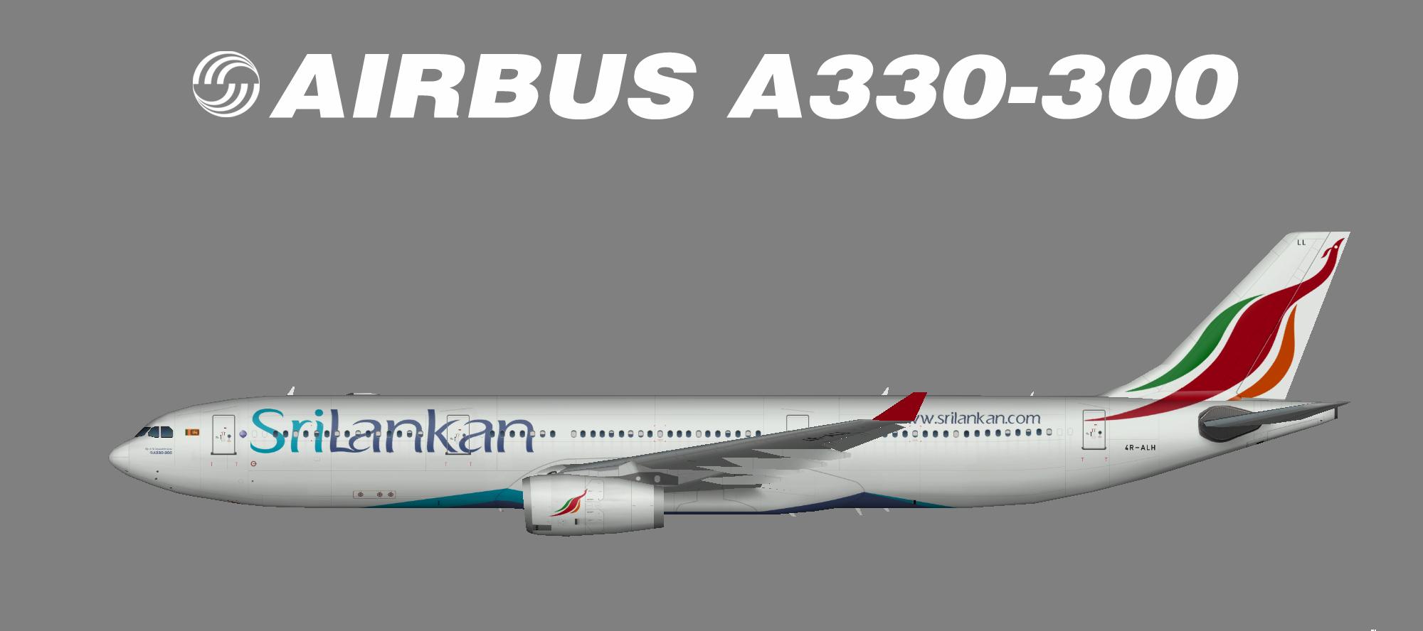 SriLankan A330-300