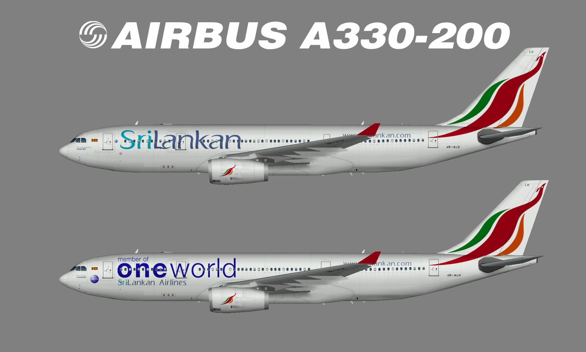 SriLankan A330
