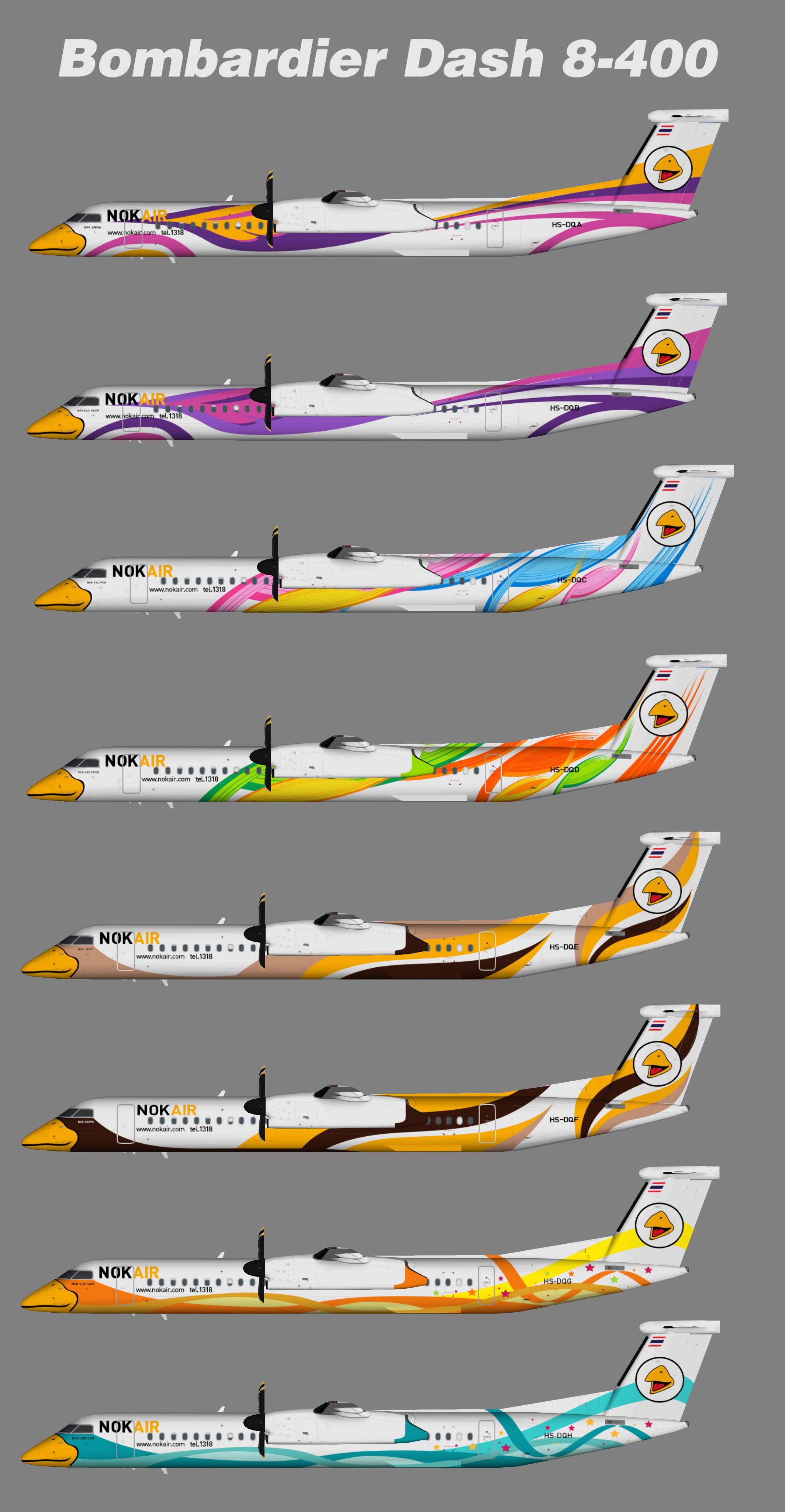 Nok Air Dash 8-Q400