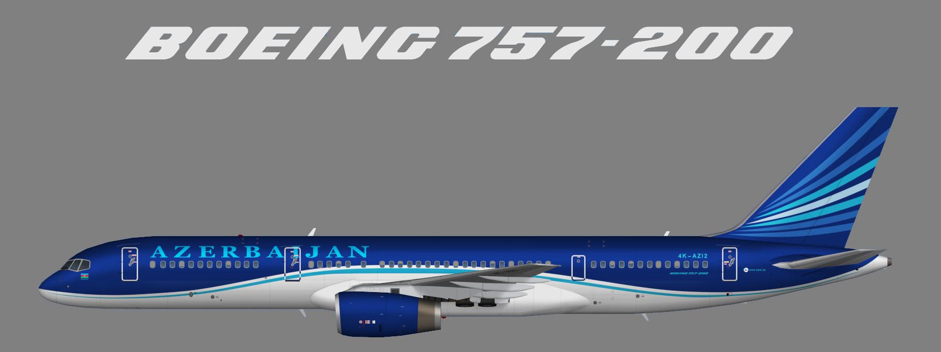 Azerbaijan Airlines (AZAL) Boeing 757-200