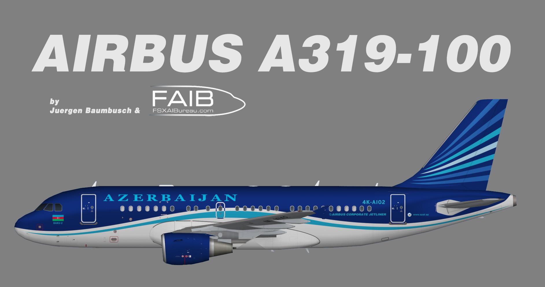 Azerbaijan Airlines (AZAL) Airbus A319-100