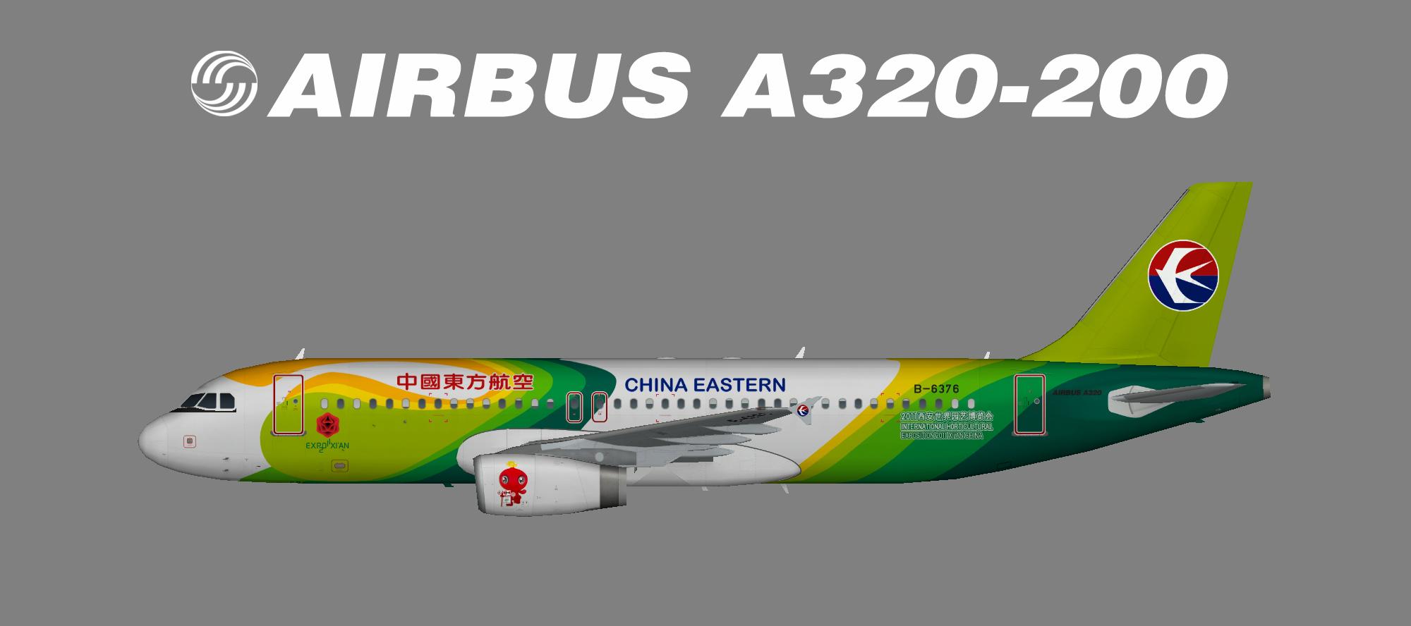 China Eastern – Juergen's paint hangar