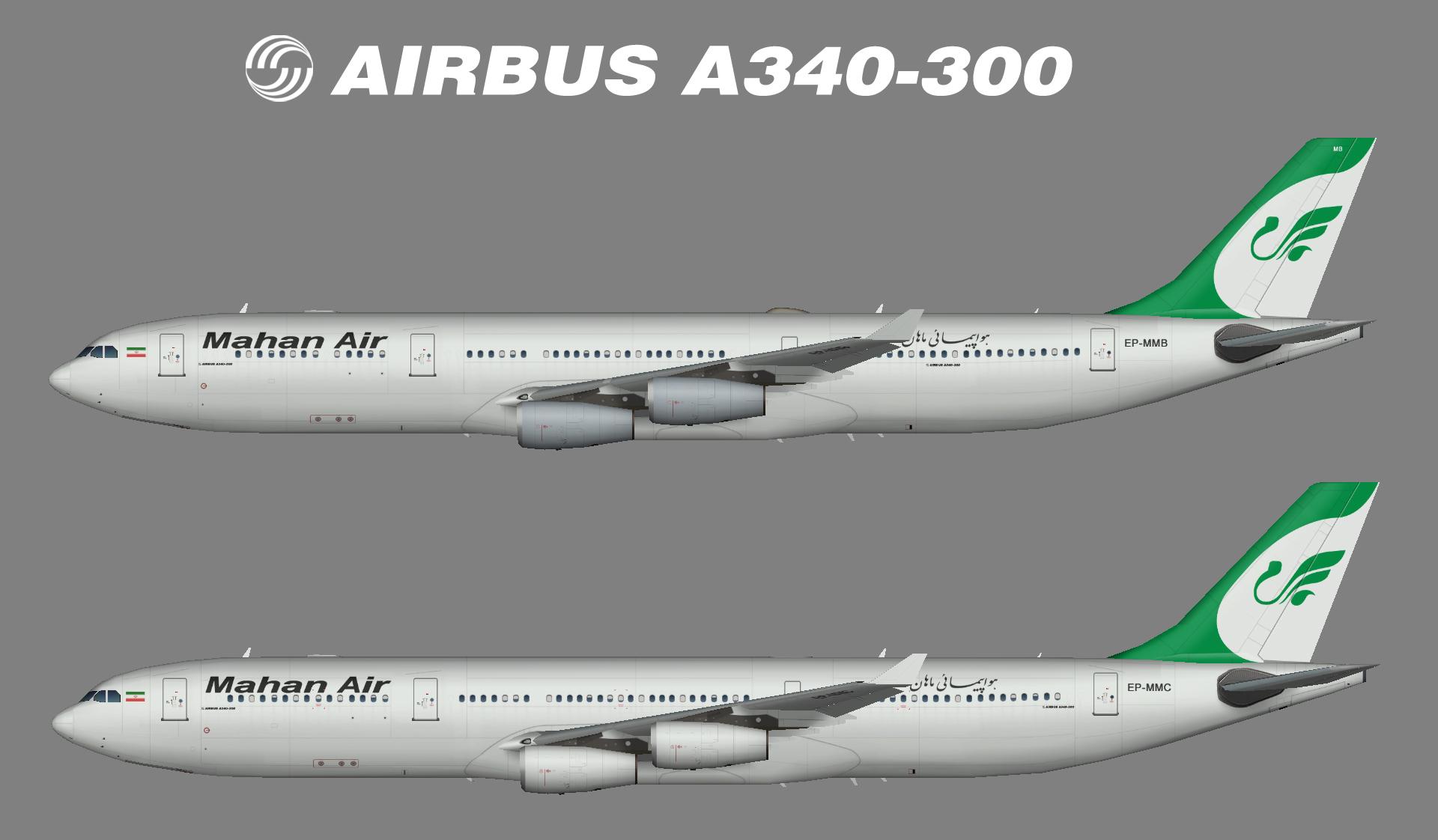 Mahan Air A340-300