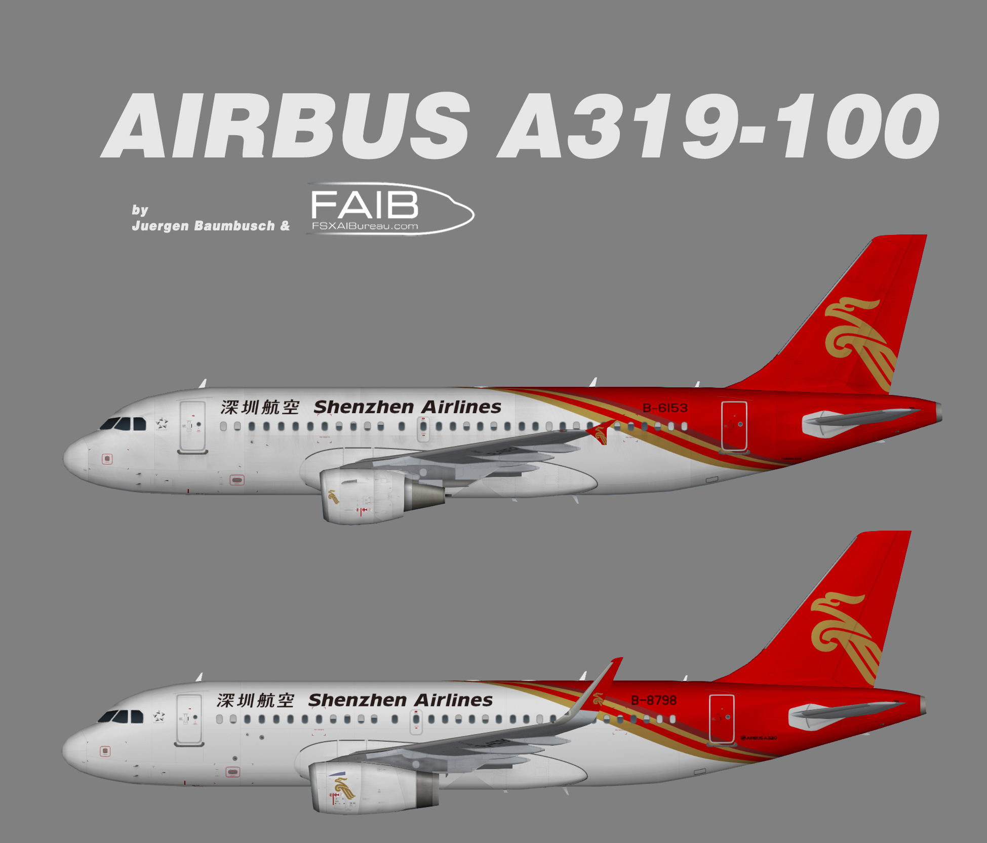 Shenzhen Airlines Airbus A319-100