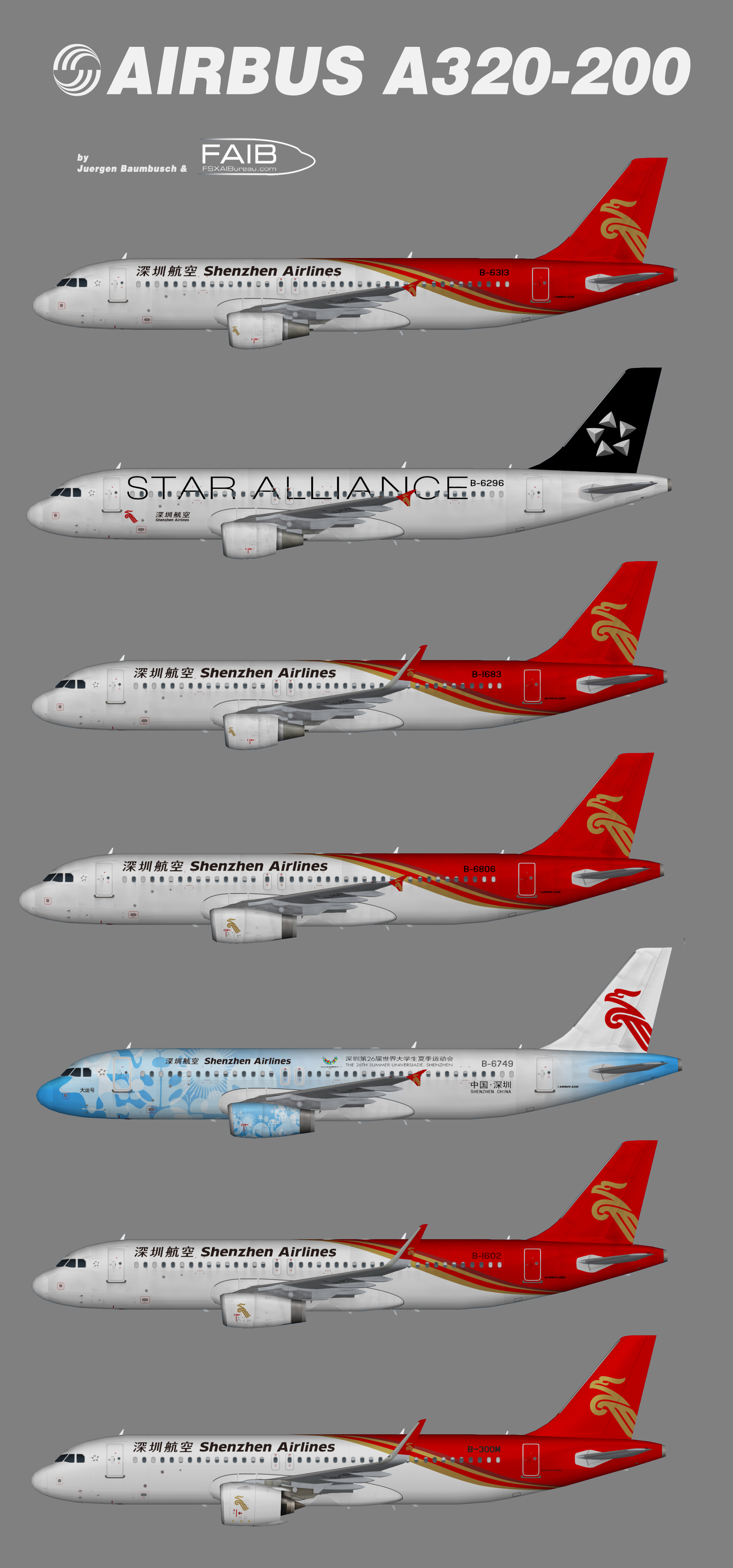 Shenzhen Airlines Airbus A320-200