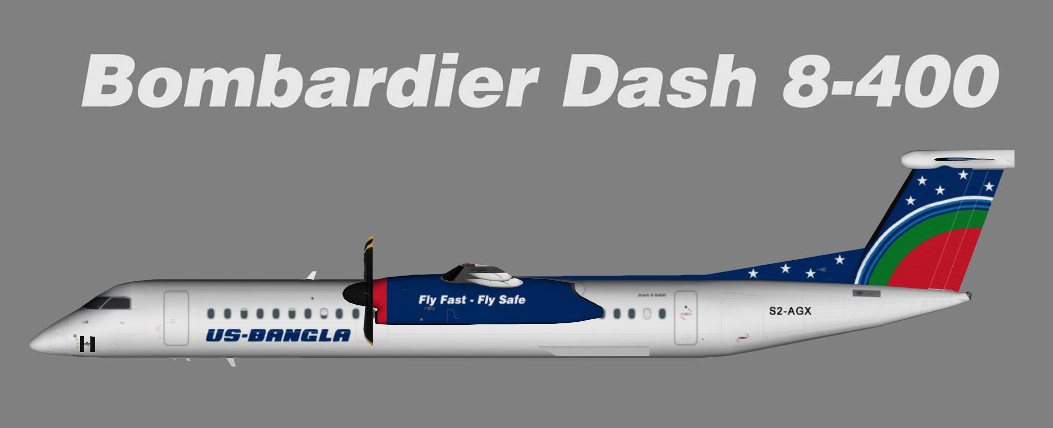 US-Bangla Airlines Dash8-Q400