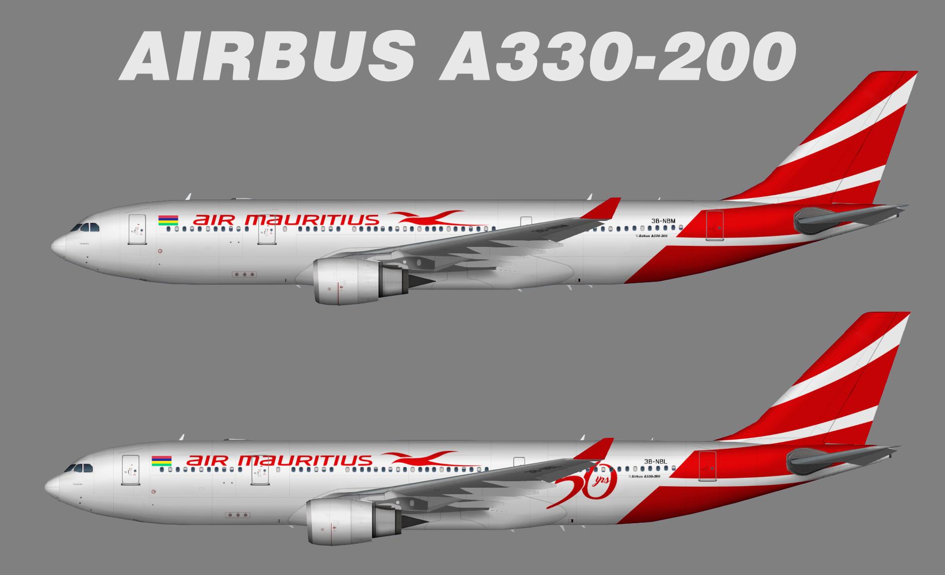 Air Mauritius Airbus A330-200