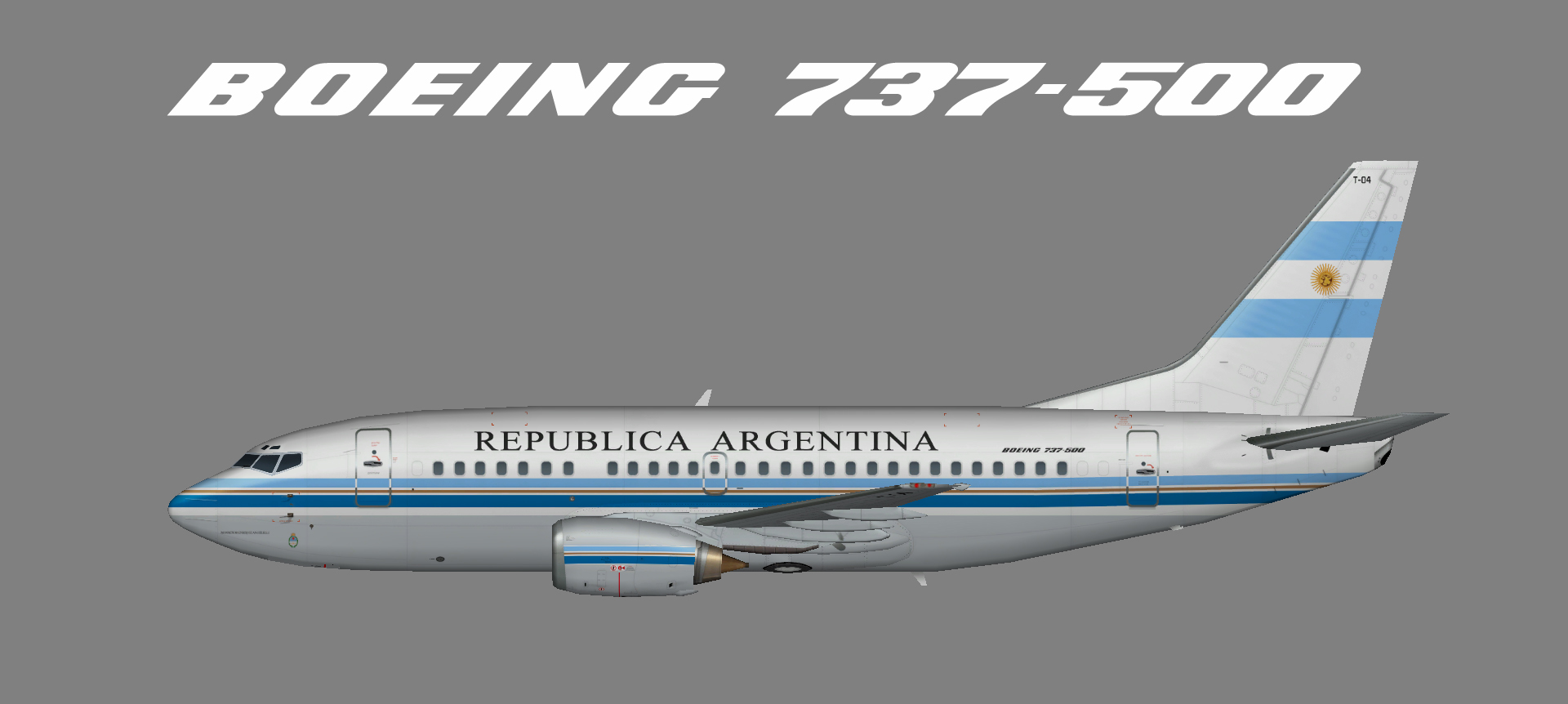 Argentina Government 737