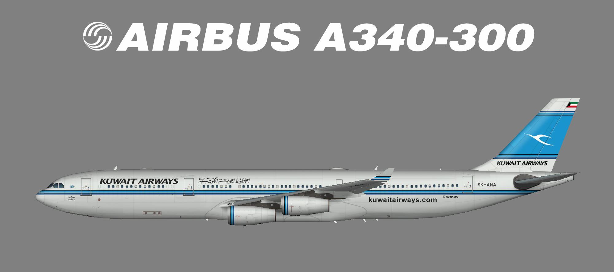 Kuwait A340