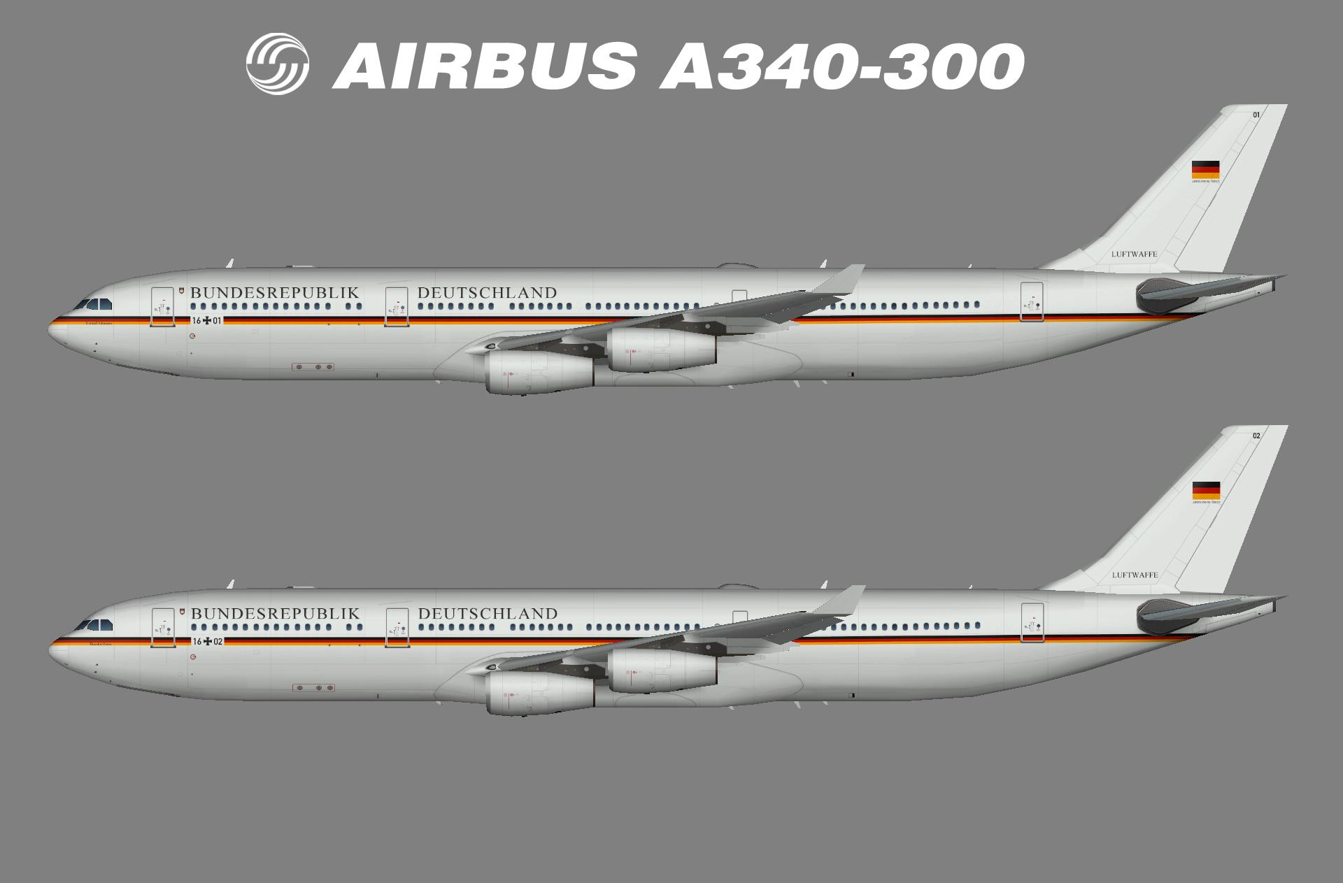 Luftwaffe A340-300