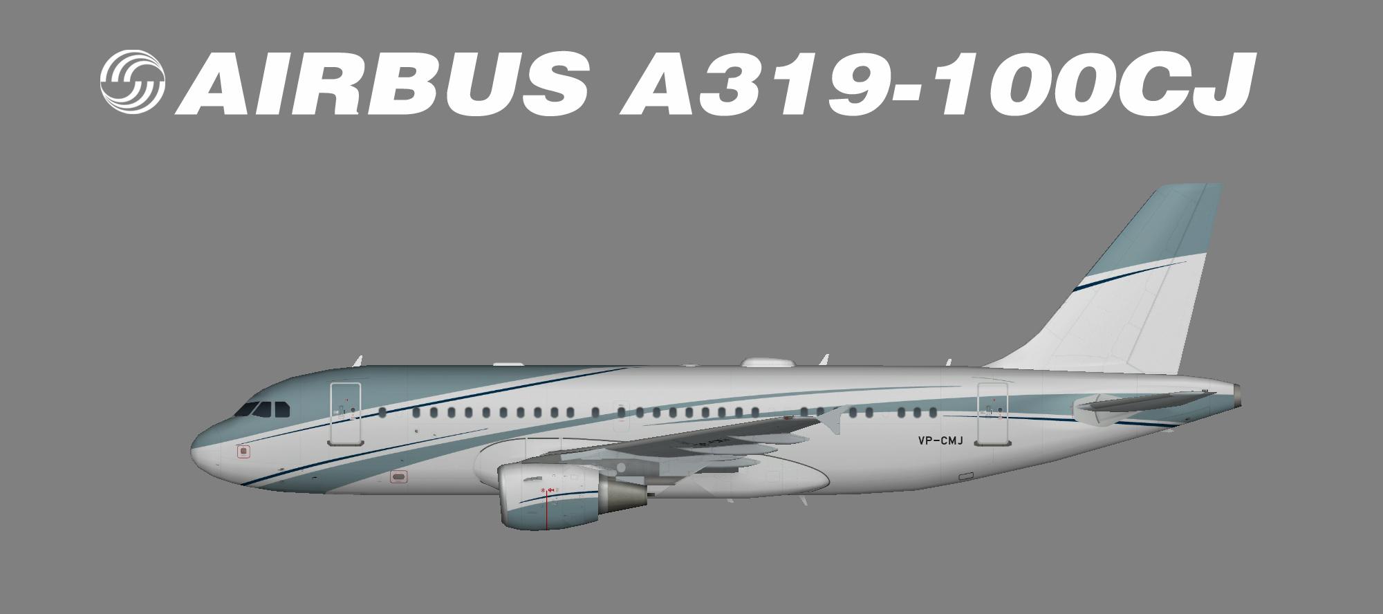 Aviation Link Company A319 VP-CMJ