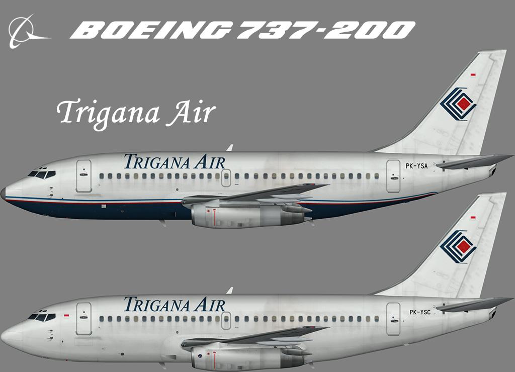 Trigana Air Boeing 737-200 – Nils