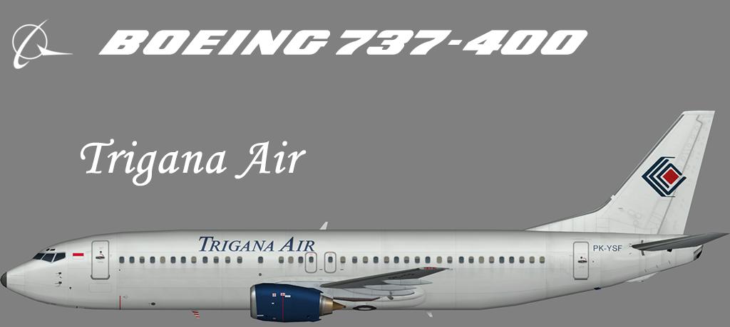 Trigana Air Boeing 737-400 – Nils