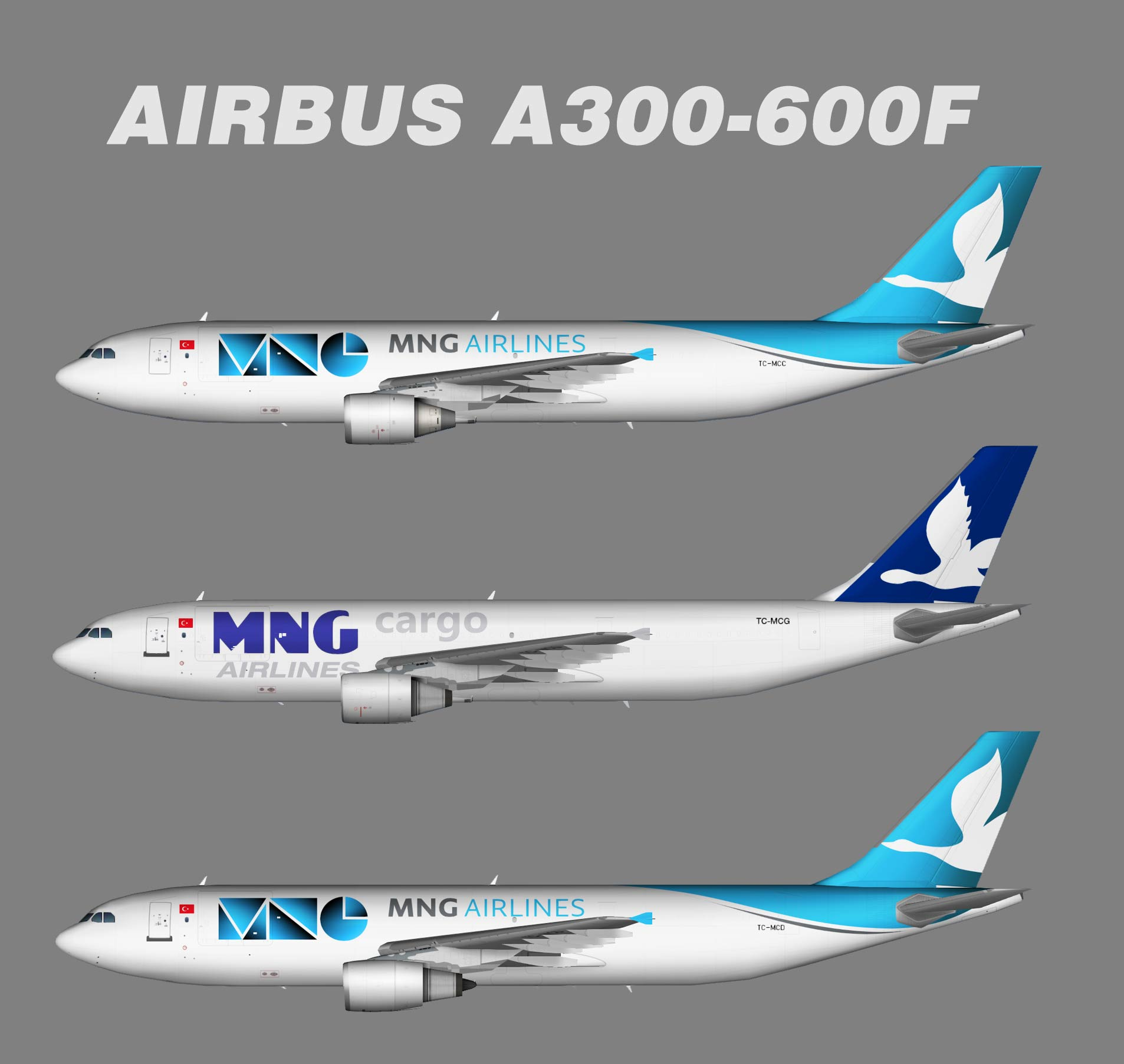MNG Airlines Airbus A300-600F