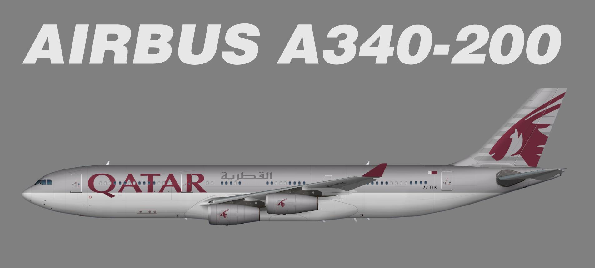 Qatar Amiri Flight Airbus A340-200
