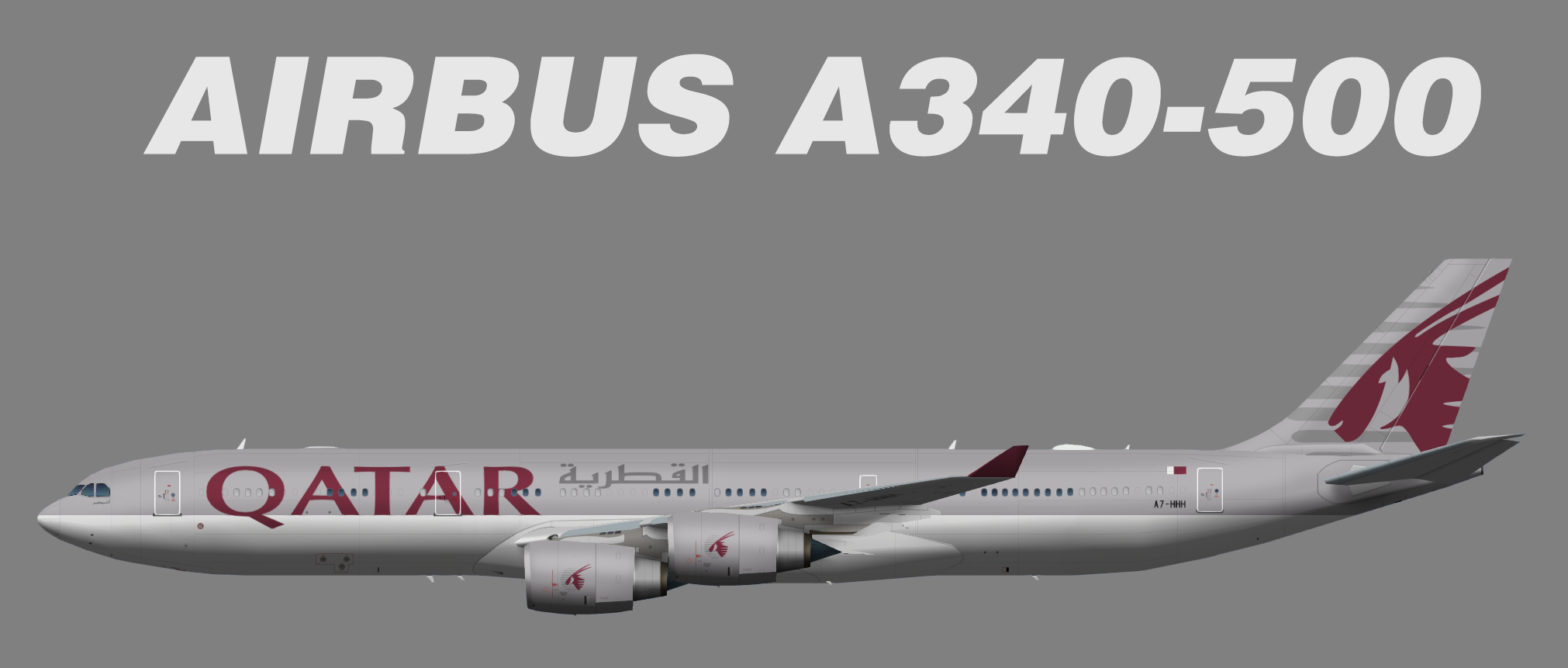Qatar Amiri Flight Airbus A340-500