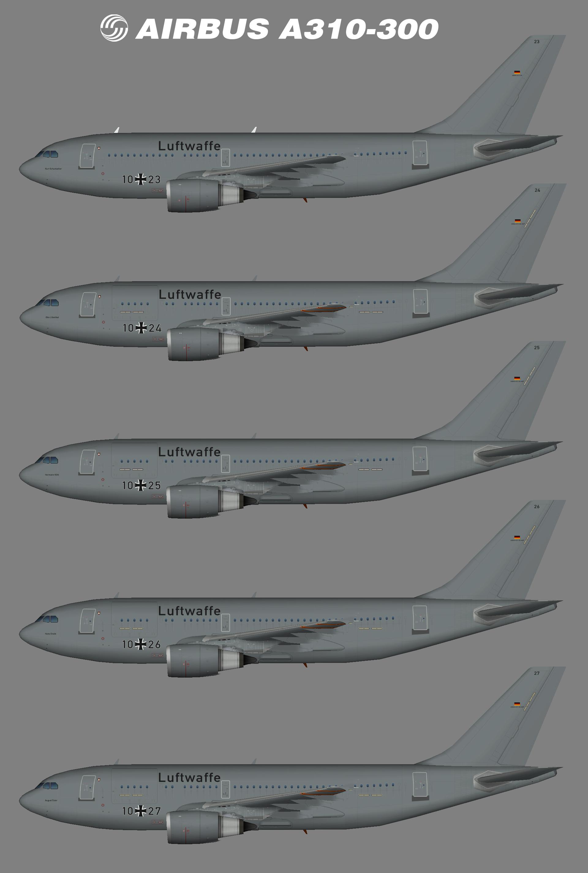 Luftwaffe A310-300