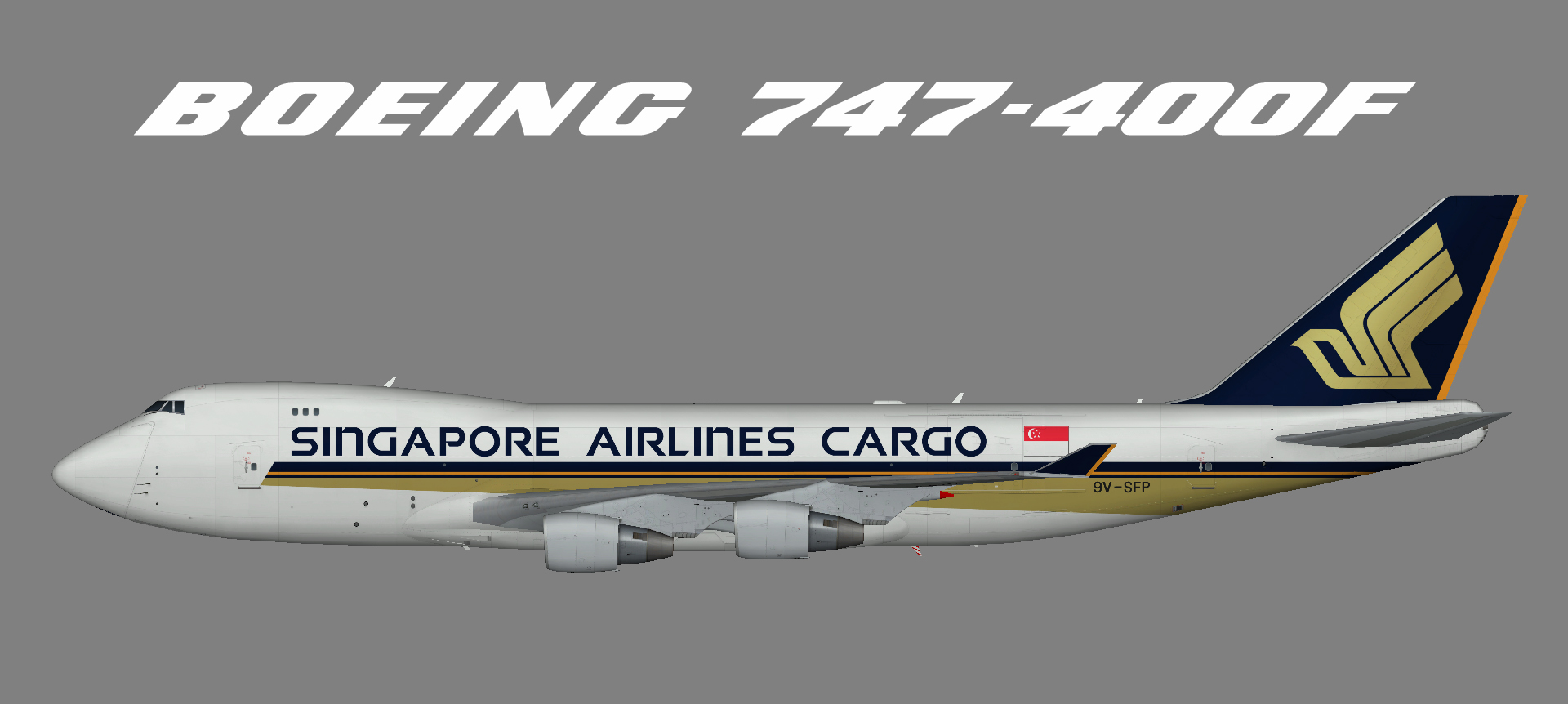 Singapore Cargo 747-400F