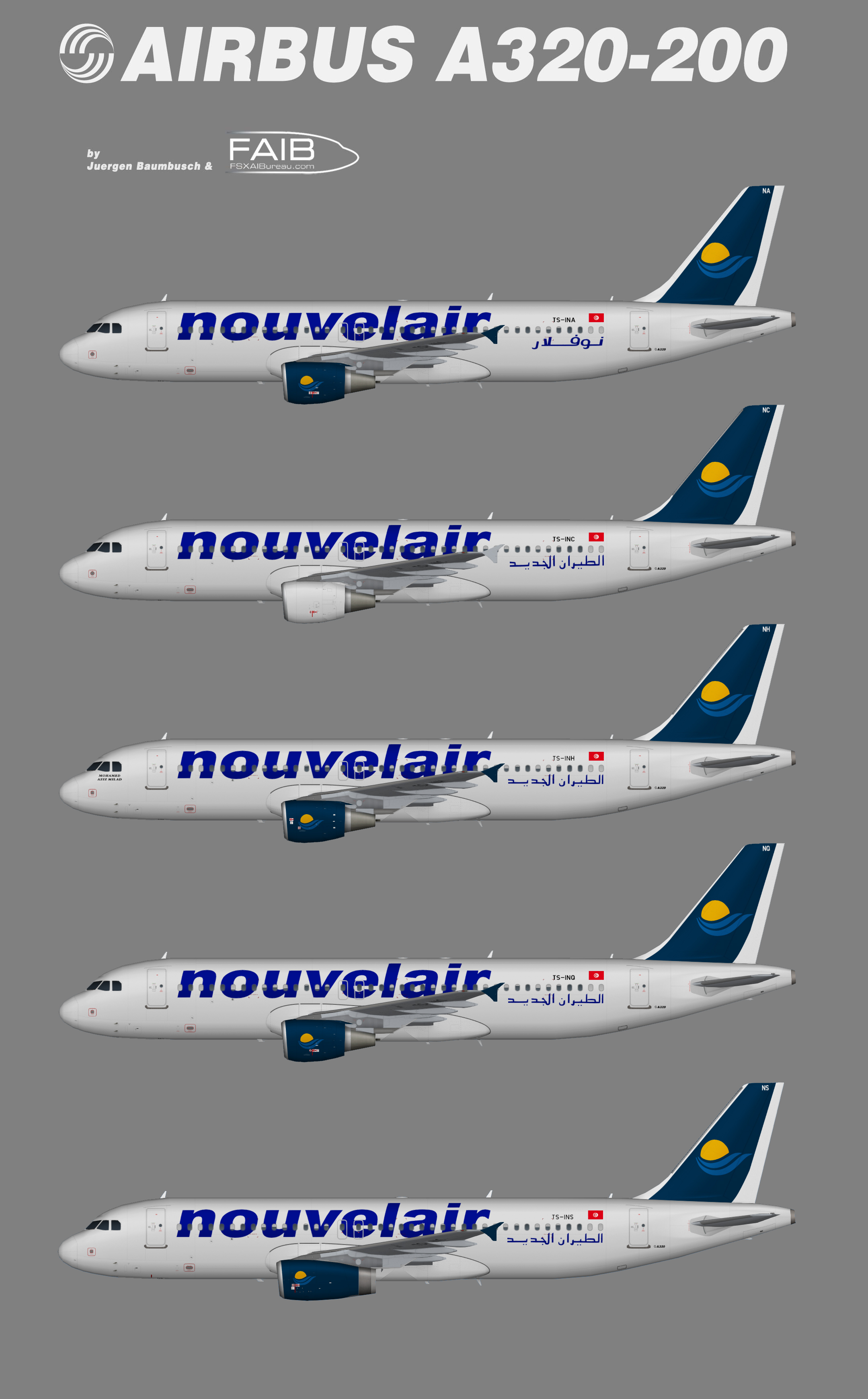 Nouvelair Airbus A320-200