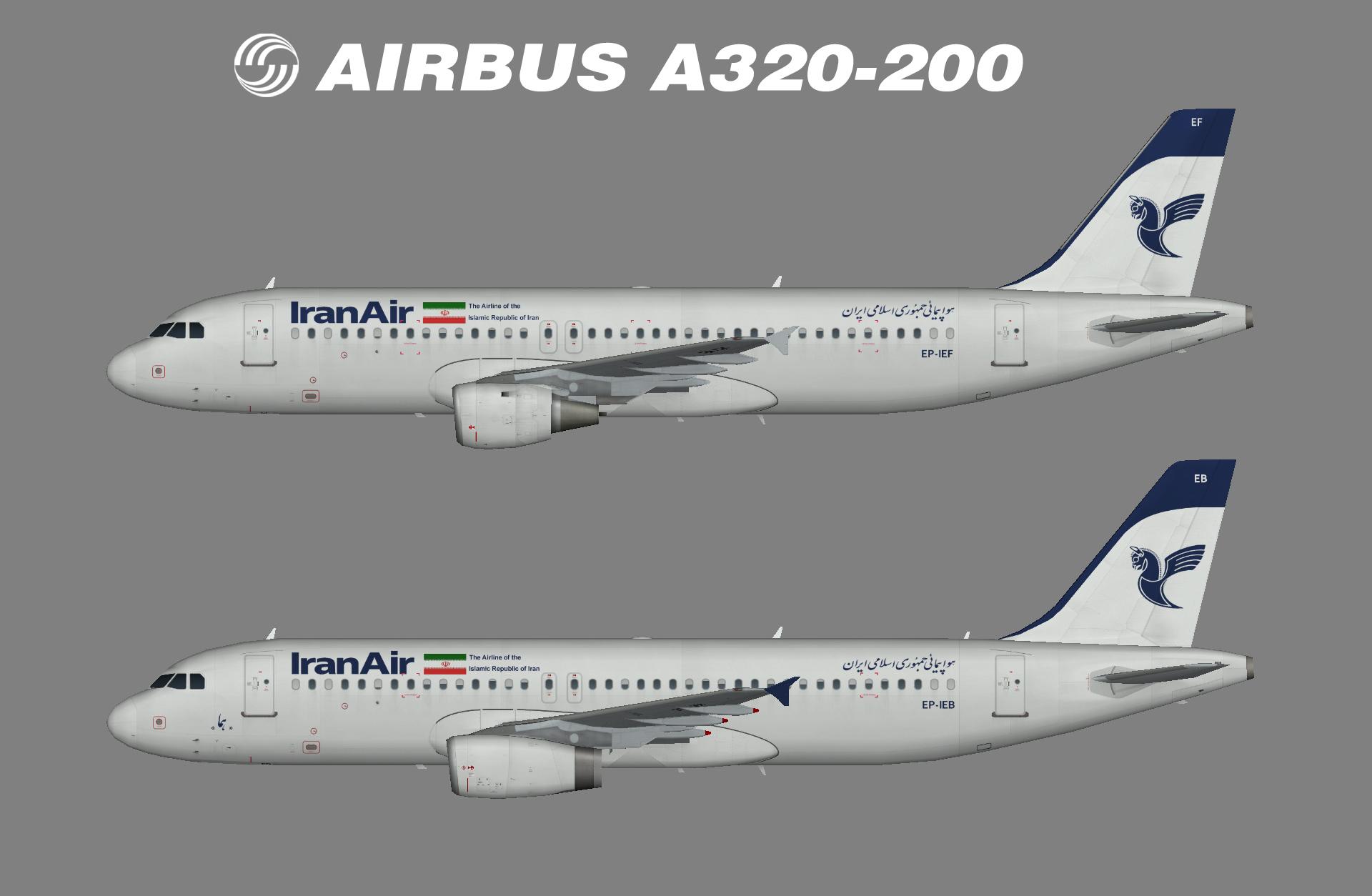 iran a320-200