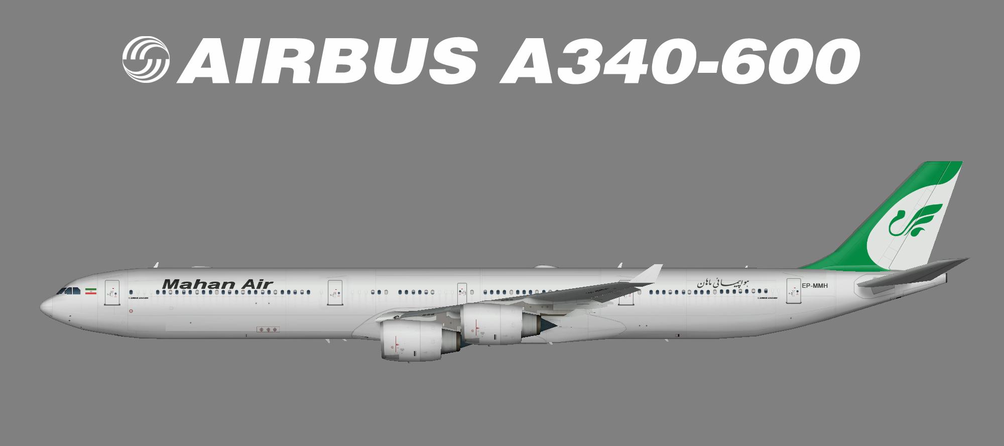Mahan Air A340-600
