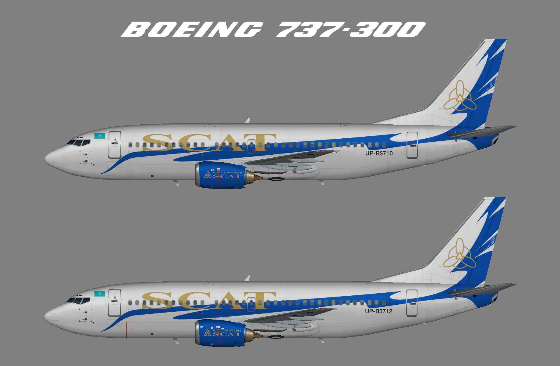 SCAT 737-300