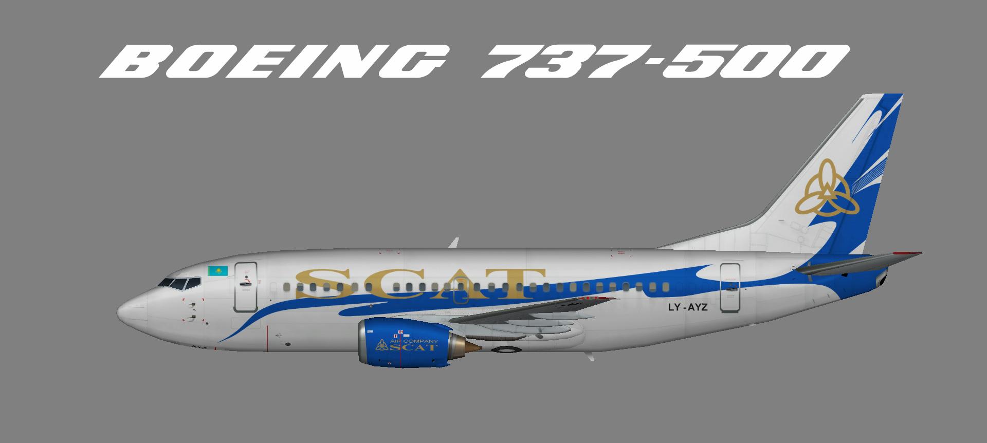 SCAT 737-500