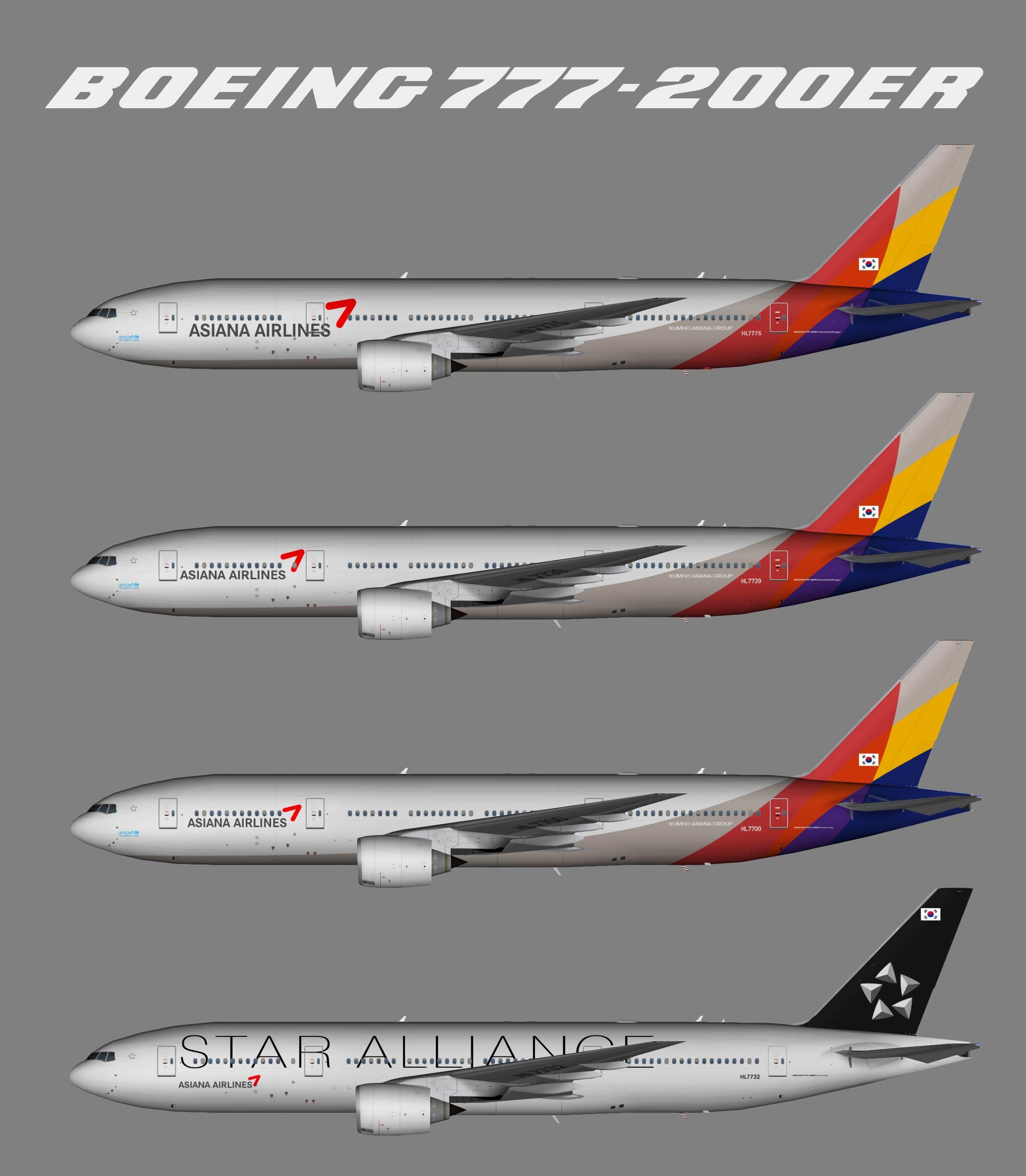 Asiana Boeing 777-200ER