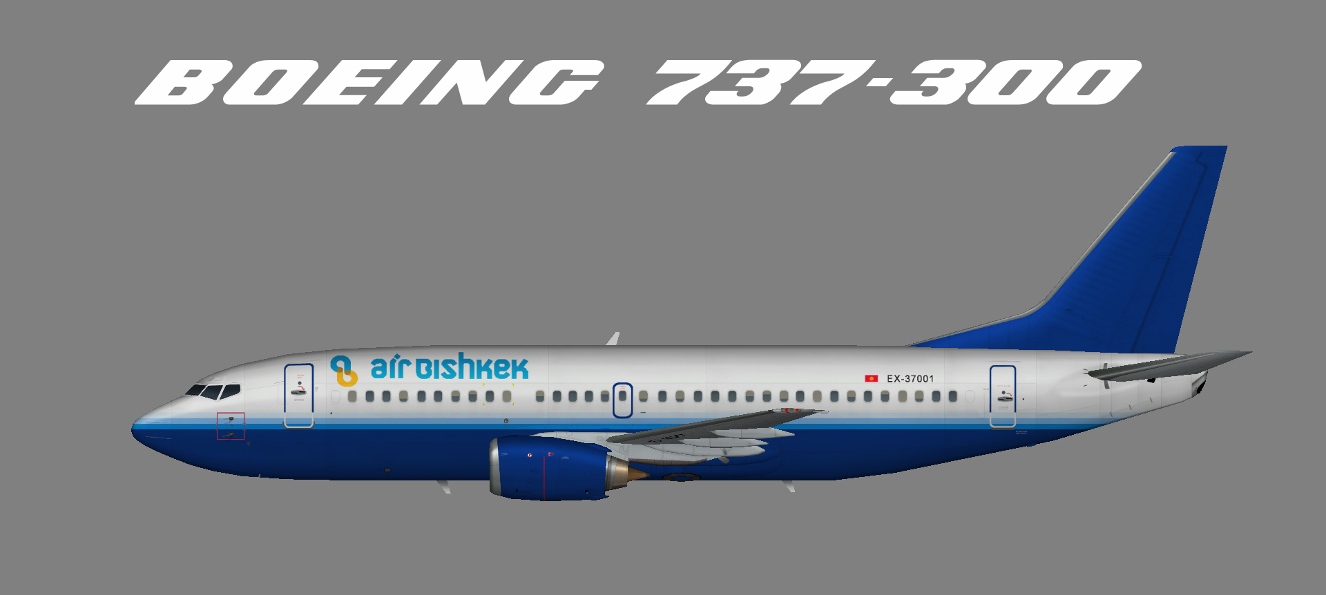 Air Bishkek 737-300